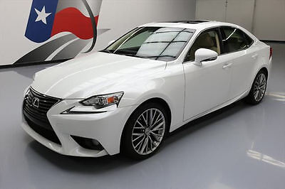 2014 Lexus IS  2014 LEXUS IS250 SUNROOF REARVIEW CAM PADDLE SHIFT 42K #007563 Texas Direct Auto