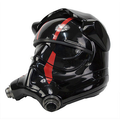 Anovos Star Wars Force Awakens First Order Special Forces TIE Pilot Helmet Acces