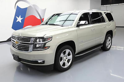 2016 Chevrolet Tahoe LTZ Sport Utility 4-Door 2016 CHEVY TAHOE LTZ 4X4 VENT LEATHER NAV REAR CAM 39K #243370 Texas Direct Auto