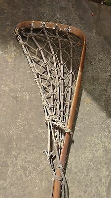 Vintage Lacrosse Stick By T S Hattersley's Viktoria Hand Made In England.