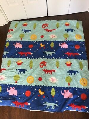 IKEA Crib Comforter/Duvet and Cover - Animal Theme - Cute!!!