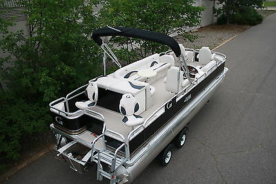 High quality-New 24 ft Fish and Fun  pontoon boat --Factory direct sales