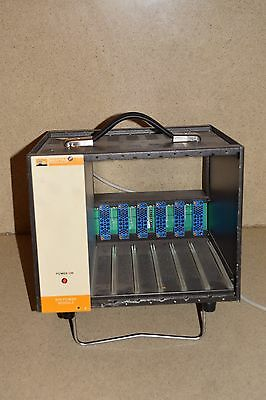 Bertan 6 Slot Nim Bin Chassis & Bin Power Supply