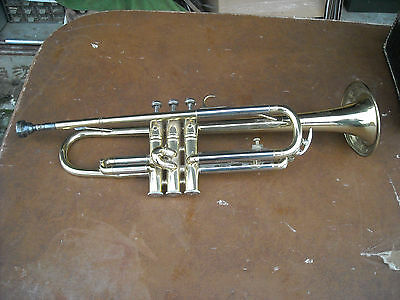 Vintage Bohm Meinl Trumpet Stradolin Made In Germany Needs Work With Case