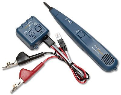 Fluke Networks Pro3000 Tone Generator and Probe Kit Smart tone Technology New