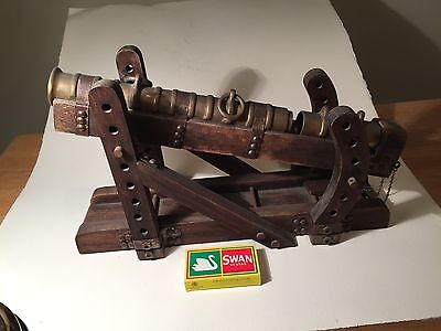 Large Model of a 15th Century Breech Loading Cannon