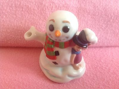 Cardew Tiny Teapot.. Snowman & Piglet.. In Super Condition..