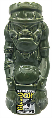 SDCC 2017 Comic Con CGI VILLIAN Tiki Mug /w LOGO San Diego Exclusive 1st Edition