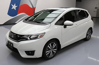 2015 Honda Fit  2015 HONDA FIT EX HATCHBACK SUNROOF REAR CAM ALLOYS 2K #750410 Texas Direct Auto