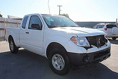 2014 Nissan Frontier King Cab S 2014 Nissan Frontier King Cab S Damaged Clean Title Perfect Project Must See!!