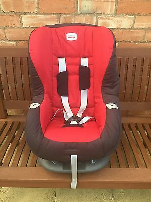 Britax Romer Eclipse Reclining Car Seat in Red
