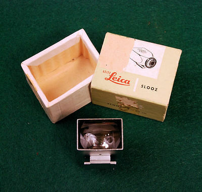 Leica Leitz 28mm Finder - SLOOZ / 12007 - Early Versio With Box, Excl. Cond.