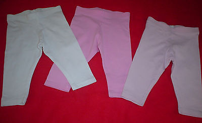 Baby Girls Next Trousers/Leggings 6-9 months.