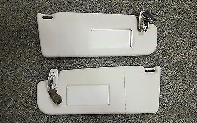 Vw Golf Mk4 Bora Slide Open Sun Visors Pair Grey