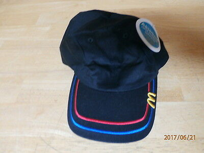 McDONALD'S BLACK  BASEBALL HAT  * NEW WITH TAG  * FREE SHIPPING *