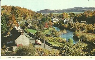 Postcard, Combie from the West, Perthshire