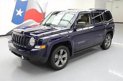 2014 Jeep Patriot  2014 JEEP PATRIOT HIGH ALTITUDE SUNROOF HTD LEATHER 18K #674380 Texas Direct