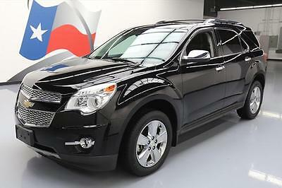 2013 Chevrolet Equinox  2013 CHEVY EQUINOX LTZ SUNROOF REAR CAM HTD LEATHER 23K #319194 Texas Direct