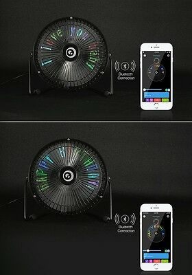 Digoo DG-TF111 DIY 6 Inches USB LED Light Metal Electrical Rotatable Clock Fan C