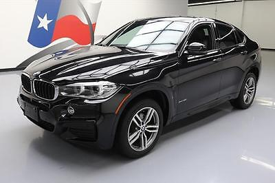 2015 BMW X6 xDrive35i Sport Utility 4-Door 2015 BMW X6 XDRIVE35I AWD M SPORT SUNROOF NAV HUD 37K #F95069 Texas Direct Auto