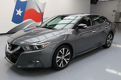 2017 Nissan Maxima  2017 NISSAN MAXIMA 3.5 SV NAV REAR CAM HTD LEATHER 25K #378286 Texas Direct Auto