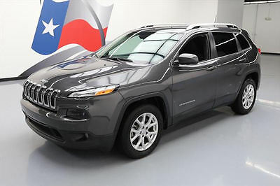 2017 Jeep Cherokee  2017 JEEP CHEROKEE LATITUDE REAR CAM BLUETOOTH 25K MI #518121 Texas Direct Auto