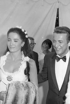 Linda Cristal And Bobby Darin At A Daytime Event   8X10 Photo 80