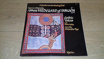 A Feather...Abbess Hildegard Of Bingen Gothic Voices Kirkby Page A66039
