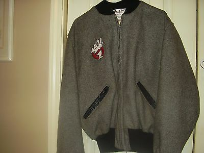 """AUTHENTIC """"Ghostbuster"""" Wool (1984) Campus Style Size 44"""
