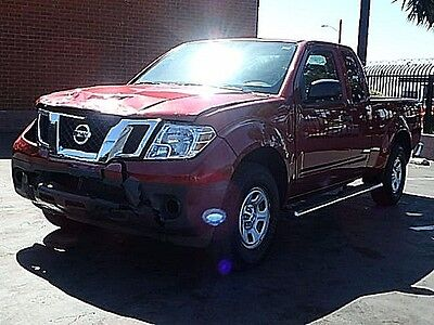 2016 Nissan Frontier King Cab S 2016 Nissan Frontier King Cab S Wrecked Clean Title Perfect Color Economical!!