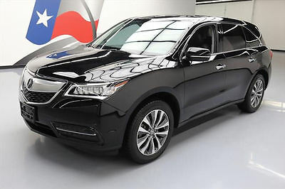 2015 Acura MDX Base Sport Utility 4-Door 2015 ACURA MDX TECH 7-PASS SUNROOF NAV REAR CAM 68K MI #007134 Texas Direct Auto