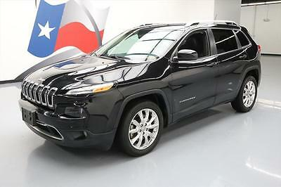 2014 Jeep Cherokee  2014 JEEP CHEROKEE LIMITED HTD LEATHER NAV REAR CAM 41K #200992 Texas Direct