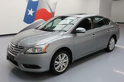 2014 Nissan Sentra  2014 NISSAN SENTRA SL SUNROOF LEATHER NAV REAR CAM 26K #273494 Texas Direct Auto