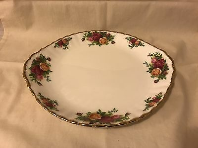 Royal Albert Old Country Roses Cake Plate Platter