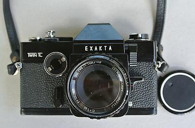 Exakta Twin Tl 35Mm Film Camera Almost Mint, Working