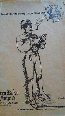 Green River Forge Mens Dropped Sleeve Shirt Pattern Historical Events Rendezvous