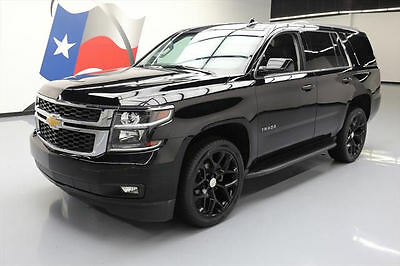 2015 Chevrolet Tahoe LT Sport Utility 4-Door 2015 CHEVY TAHOE LT TEXAS 4X4 LEATHER NAV DVD 22'S 44K #659787 Texas Direct Auto