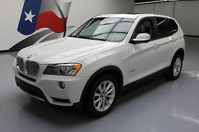 2014 BMW X3 xDrive28i Sport Utility 4-Door 2014 BMW X3 XDRIVE28I AWD HEATED SEATS SUNROOF 44K MI #D13735 Texas Direct Auto