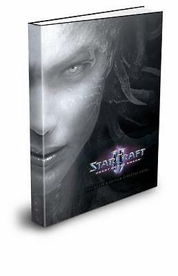 NEW StarCraft II Heart of the Swarm Hardcover Strategy Guide Book $29.99