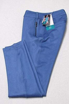 New Womens Chase 54 Size 4 Alicia  polyester spandex golf pants Chambray Blue