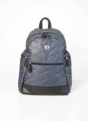 OiOi Indigo Quilted Backpack - no accessories