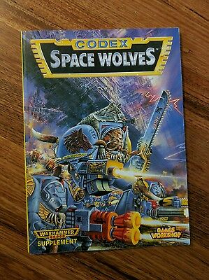 Warhammer 40k Space Wolves Codex 2nd Edition