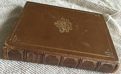 """""""Stories From the Odyssey"""" book H.L. Havell 1909 leather illustrated"""