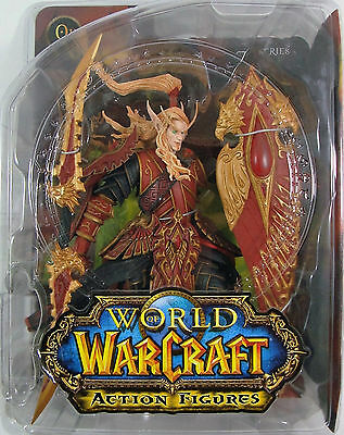 World of Warcraft Blood Elf Paladin Quin'Thalan Sunfire series 3 Action-Figure