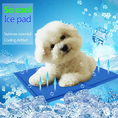 Cooling Ice Pad Cat Dog Mat Pet Summer Bed for Puppies Yorkie Chihuahua Poodle