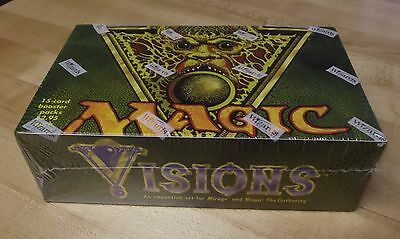 Magic the Gathering MTG Factory Sealed Visions Booster Box Free Shipping.