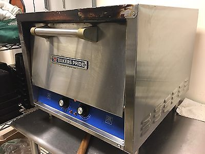 Bakers Pride P-18 Electric Counter top Pizza Deck Oven 120V Good condition.