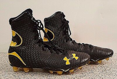 Under Armour Batman Highlight Football Cleats -Mens Size 8- VGC!