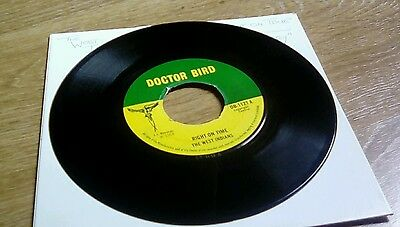 West Indians - Right on time - Doctor Bird UK Orig rare rocksteady