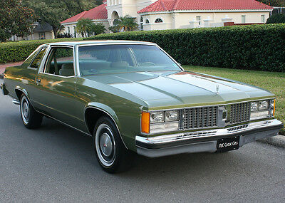 1979 Oldsmobile Ninety-Eight Original RARE & SPORTY TWO OWNER -1979 Oldsmobile 98 Coupe - 30K ORIG MILES